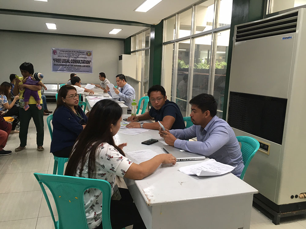 IBP-PPLM in partnership with the Paranaque City Administration